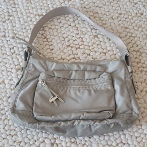 LACOSTE Tan Signature Shoulder Bag